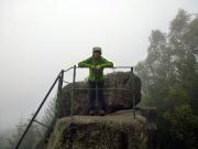 Auf dem Gipfel des Trudenstein am Südhang des Hohnekopfs