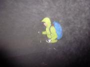 Brocken-Finale eines harten Tages auf dem Harzer Hexenstieg