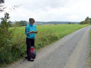 Literaturliebhaberein Christiane rezitiert aus Heines Harzreise
