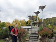 Touristenzentrum an der Staumauer der Talsperre Wendenfurth