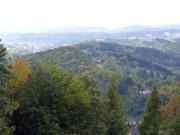 Fernblicke auf den ersten Kilometern des Harzer Hexenstieg
