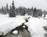 Ein Trost blieb während der ganzen Tour, nämlich der Blick in eine herrliche Winterlandschaft.