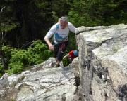 Zustieg zur Scharte zwischen Breithorn und Monte Rosa