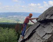 Nicht schwer, wenn man entschlossen steigt - die Ostkante am Kleinen Matterhorn
