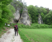 Klettern bei Plech