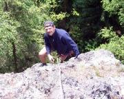 Klettern im Lauschagrund - Edelweißkante