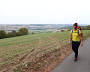Start unserer letzten Etappe, kurz nach Tauberbischofsheim