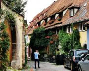 Die Altfränkische Weinstube, unsere Unterkunft in Rothenburg