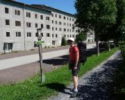 Auch das ist der Rennsteig im Jahre 2008 in Neuhaus am Rennweg :(