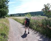 Maserberg ist in Sicht, auch der Turm auf dem Eselsberg scheint in Reichweite