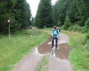 Der Regen hat auch seine Reize, die Landschaft ist anders, frischer, schöner
