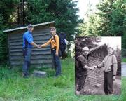 Viele viele Jahre später, als das Bild im Bild - das Gipfeltreffen wird nachgespielt und neu erlebt -  mit Christiane