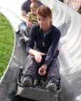 Ein toller Spaß für Zwischendurch, auf der Sommerrodelbahn an der Grenzwiese