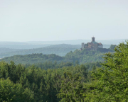 Und hier die berühmte Eisenacher Wartburg etwas herangezoomt