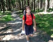 Unterwegs zwischen Ernstthal und Spechtsbrunn - noch immer bei brütender Hitze