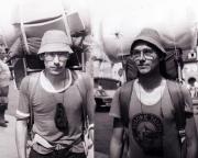 Unsere erste Rennsteigwanderung mit Steffen Große 1981
