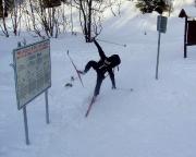 Ankunft an der Iser - wer so Ski fährt, kann Ski fahren