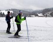 Etwas mehr als 100 km Luftlinie vor der Haustür tollste Winterlandschaft