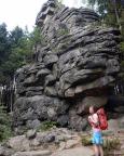Kleiner Feuerstein, großer Gipfel, beeindruckende Führe