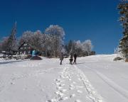 Die letzten Meter zum Gipfel, zum Bufet nad Severákem
