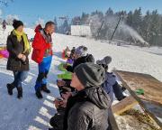 Das verdiente Gipfelbier am Bufet nad Severákem
