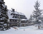 Unser Hotel Maruška in Janov nad Nisou, Hrabetice, Isergebirge