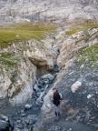 Abgetaut, Reste des ehemaligen Gletschers der Eiger-Nordwand