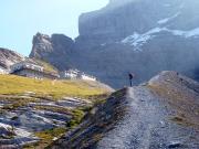 Auf dem Weg von der Kleinen Scheidegg zur Station Eigergletscher