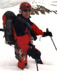 Eiswandbichl Nordwand - auf dem Rückweg nach unser ersten Firnwand