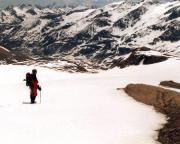 Auf dem völlig problemlosen Rückweg zur Oberwalderhütte