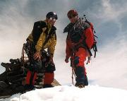 Eiswandbichl Nordwand - Dauergrinsen auf dem Gipfel des Eiswandbichl