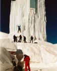 Eiskletterturm auf dem Jenner bei Berchtesgaden