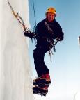 Thomas Huber Senior erklärt Sicherung und Taktik im Eis