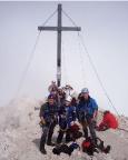 Alpspitz-Ferrata - Gipfelfreude und überraschend sogar etwas Sonnenschein