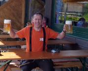 Egal von welcher Tour man kommt: an der Oase Bergstation Osterfelderkopf