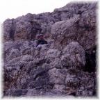 Abstieg vom Toblinger Knoten über den Feldkurat Hosp Steig