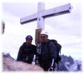 Am Toblinger Knoten - mit Volker Roßberg auf dem Gipfel