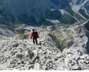 Watzmann - das Finale beginnt mit dem Abstieg von der Südspitze