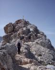Dann ist es soweit - endlich ist der begehrte Gipfel in greifbarer Nähe