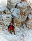Dibonakante - Die letzten Meter zum Gipfelkreuz