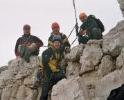 Große Zinne - Normalweg durch die Südwand - September 2004