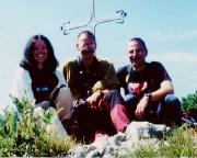 Großer Rotofenturm - Maria, Volker und ich auf dem Gipfel