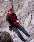 Il Gobbo Nordwand - letzte Abseile nach einem verrückten Abenteuer