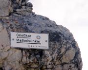 Grießkar oder Matheisenkar, wenn es nicht mehr über die Alpspitze gehen soll