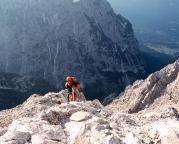 Abstieg durch das Grießkar zur Höllentalangerhütte