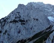 Der Predigtstuhl im Karwendel-Gebirge, Blick von der Dammkarhütte