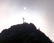Der Gipfel des Roßsteins in einer ganz besonderen Stimmung