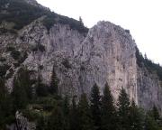 Blick auf die Rosssteinnadel im Zustieg vom Tal, als Nadel nicht zu erkennen