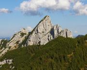 Die Ruchenköpfe in den Schlierseer Bergen, Mangfallgebirge