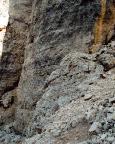 Torre Barancio - unterer Wandteil der Nordwand